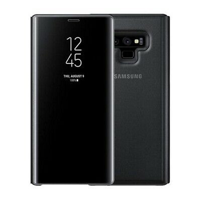 OEM Samsung Galaxy Note 9 Case, S-View Flip Cover with Kickstand, Black