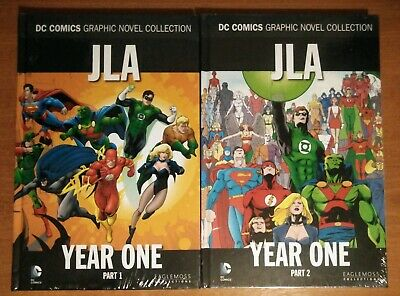 JLA Justice League Year One Graphic Novels - DC Comics Collection Volumes 7 & 8