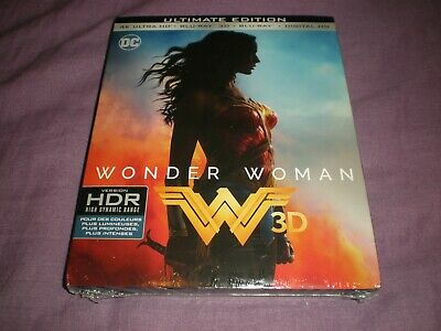 wonder woman ultimate edition 4K+ULTRA HD+BLU RAY 3D+BLU RAY +DIGITAL HD