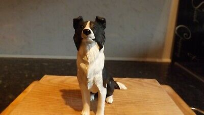 North Light Dog Border Collie 1999 Sitting Pristine Condition Unboxed