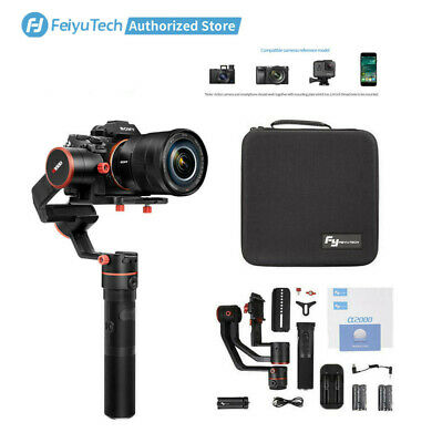 Feiyu A1000 3-Axis Stabilizer Gimbal for DSLR/Mirrorless Camera Sony Panasonic
