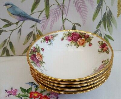 "ROYAL ALBERT ""OLD COUNTRY ROSE"" 16cm Cereal Bowls ***6----AVAILABLE*** #2"