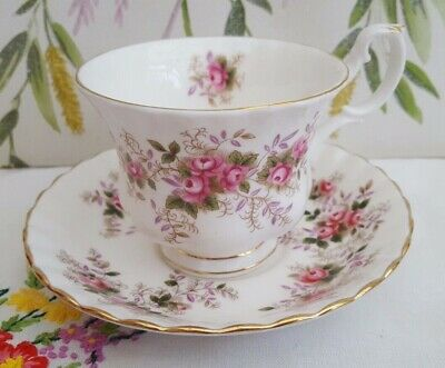 "Royal Albert ""Lavender Rose"" Tea cup and Saucer ***MORE AVAILABLE***"