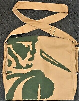 BOAG'S DRAUGHT BEER Shoulder Tote BAG or SATCHEL Lined Canvas BOAGS Never Used
