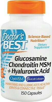 2 PCS  DOCTOR'S Best Hyaluronic Acid + Chondroitin Sulfate