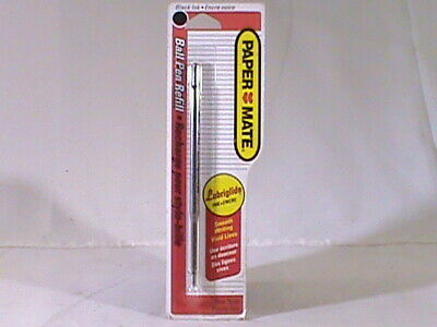 Vintage NOS PAPERMATE Black Ball Point Pen Refill~Fine Point