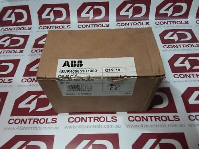 ABB 1SVR405651R1000 24V ac PCB Mount Interface Relay Module, SPDT, Cage Clamp...