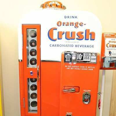 7LOT BATCH OF Professionally Restored Soda Coke Machine ... on