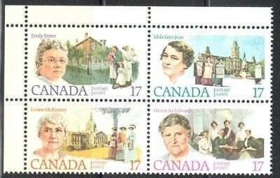 Canada #879i (#882a) UL Blank --Pink Broach on Collar Variety-- VF Mint NH