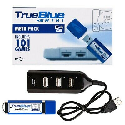 True Blue* Mini Fight/Meth/Crackhead Pack 58/101 Games For PlayStation Classic