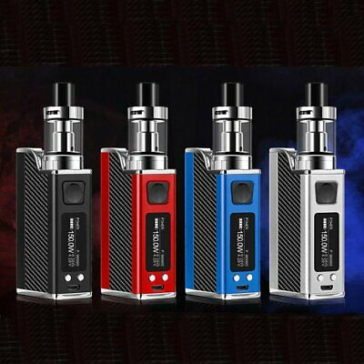 150W Tank Vape Electronic E Pen Starter Cigarette Kit Tank LED Display 2018