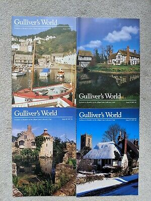 GULLIVER'S Monde 1997 Lilliput Lane Club de Collectionneurs News Guides I-Iv