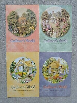 GULLIVER'S Monde 1996 Lilliput Lane Club de Collectionneurs News Guides