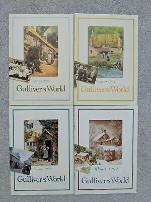 GULLIVER'S Monde 1992 Lilliput Lane Collectionneurs Club News Guides