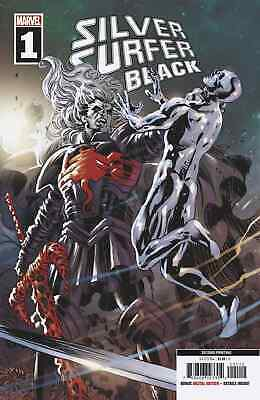 SILVER SURFER BLACK 1 2nd PRINT MIKE DEODATO VARIANT NM PRE-SALE 6/19