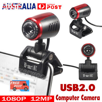 1080P 12MP HD webcam web camera USB2.0 with MIC for computer laptop desktop NEW