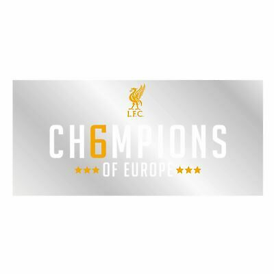 Liverpool FC UCL Champions Car Sticker LFC Official