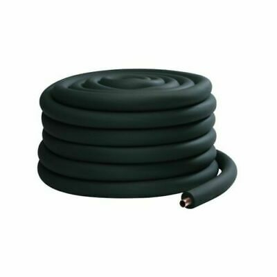 5/8 in Insulation Foam Tube Pipe Copper Black Air Con - 9 or 19mm wall 1.8m long