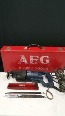 Aeg Corded Reciprocating Saw Use600 In Hard Case