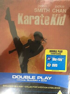 KARATE KID (2010 Film) - BLURAY + DVD Steelbook BRAND NEW! UK Import All Region