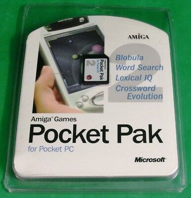 Microsoft Amiga Games Pocket Pak 2 for Pocket PC 2002 & ARM Based Pocket PC 2000