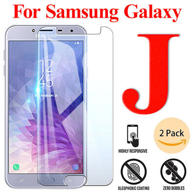 Tempered Glass Screen Protector For Samsung Galaxy J4 J6 J8 A6 A8 Plus 2018 Vx