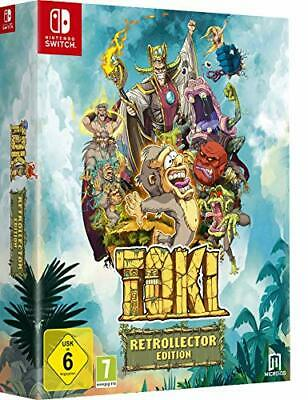 Toki Retrocollector Edition Nintendo Switch Limited Edition Pal Italiano Nuovo