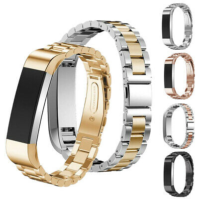 For Fitbit Alta/HR Band Women Men Large Small Metal Stainless Steel Bracelet