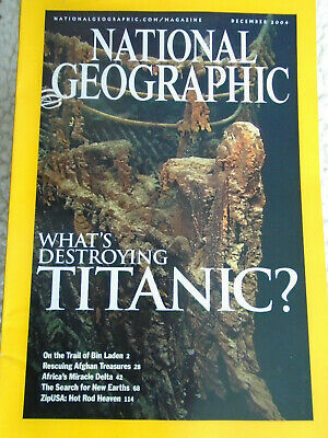 National Geographic magazine December  2004