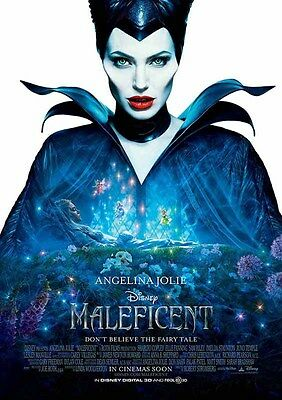 Movie Poster Print A4 Maleficent  **DISCOUNTED OFFERS** A3
