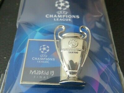 Uefa Champions League Final 2019 Madrid Tottenham Liverpool Official Badge