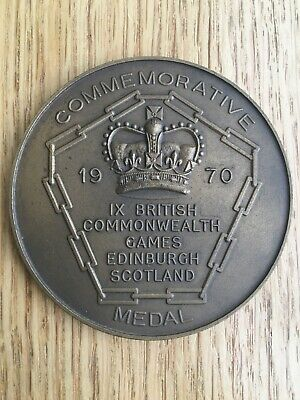 1970 Commonwealth Games participation medal, good condition, unboxed.