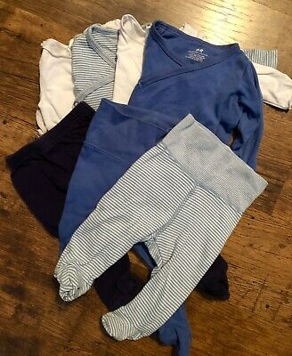 Bonds, OSH KOSH & H&M Baby Boy Clothes Bulk Bundle Size 000 7 Items
