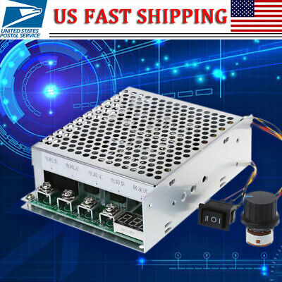 DC 10-55V 100A Motor Speed Controller Reversible PWM Control Forward/Reverse NEW
