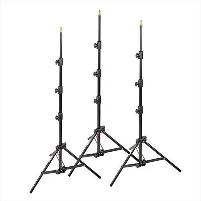 Manfrotto 1051BAC-3 Air Cushioned Compact Light Stands (3 Pack)