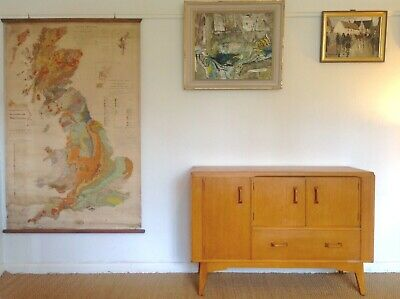 G PLAN 1950s Mid Century Modern Small SIDEBOARD / Storage Vintage Retro DELIVERY