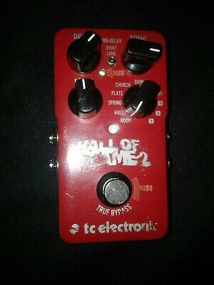 TC Electronic Hall of Fame 2 Reverb Pedal Used Toneprint