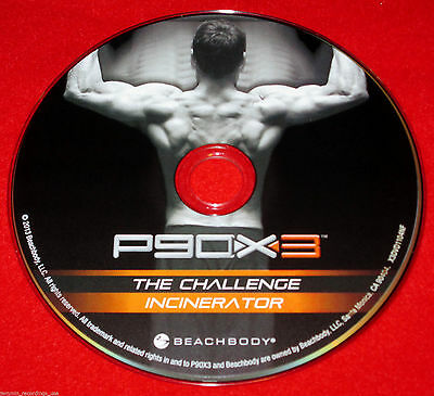 P90X3 - THE Challenge / Incinerator - New Fitness DVD