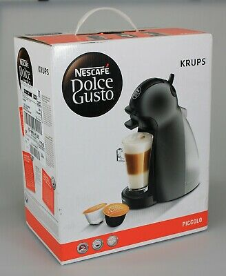 Nescafe Dolce Gusto Krups Piccolo Anthracite Machine A Cafe