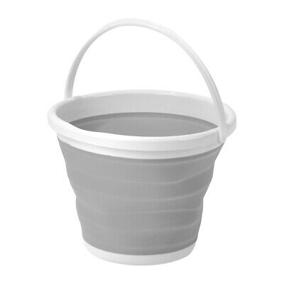 Large 5L Collapsible Bucket Home Tidy Washing Easy Storage Foldable Silicone