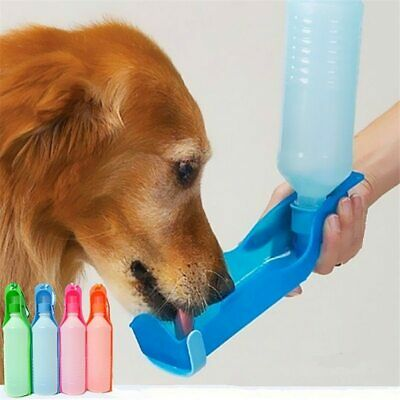 250ML/500ML Outdoor Portable Pet Dog Water Bottles Foldable Tank Drinking Design
