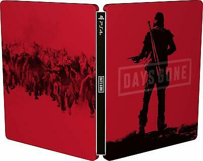 Days Gone Steelbook Only Ps4 (No Game) Brand New