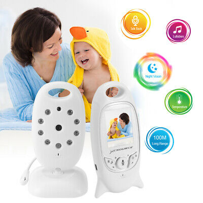 """2"""" Color LCD Baby Monitor 2.4GHz Wireless Video Audio Talk Night Vision XC502"""