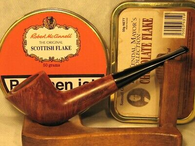 Pre-smoked JAMES UPSHALL, Dublin shape, briar pipe with smooth finish!