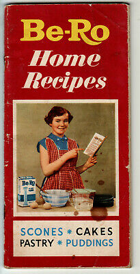 Vintage Be-Ro Bero home recipes book 24th million ed. + TREX cookery book 1953