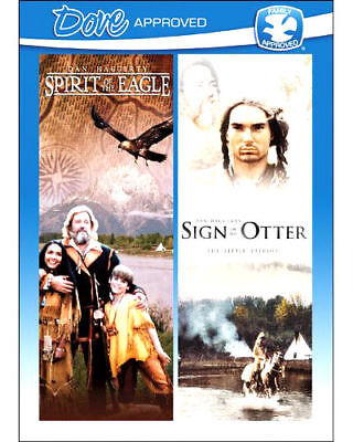 NEW Spirit of the Eagle AND Sign of the Otter (DVD 1982 2 MOVIE SET Dan Haggerty