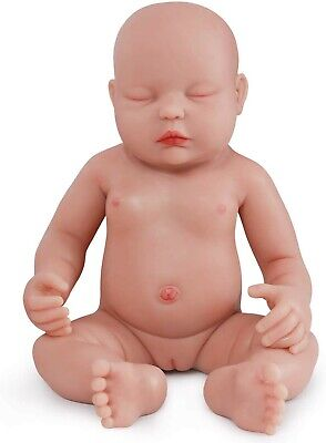 Sleeping Full Body Silicone Baby Girl Realistic Newborn Alive Weighted New