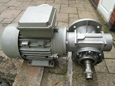 Electro Adda 3 Phase Motor and Gearbox, used.
