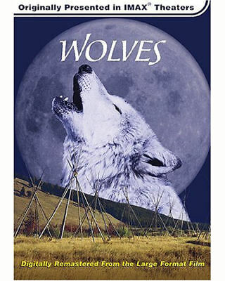 Wolves (DVD, 2002) IMAX Documentary BY I MAX  Educational WOLF MOVIE