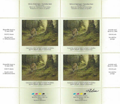 2005 Canada Quebec  Wildlife Habitat Conservation  -DQ47s    Mint NH